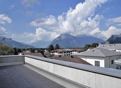 neue 3.5-Zimmer-Attikawohnung mit zwei Terrassen und toller Aussicht