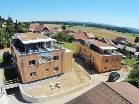 Neue Eigentumswohnungen mit Alpensicht