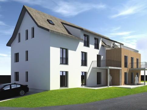 Neues Projekt mit 5 verschiedenen Eigentumswohnungen