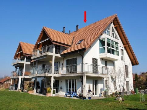 Neuwertige Dach-Duplexwohnung