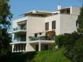 Rosenberg: Neue sonnige Terrassenwohnung mit Garten an Sackgasse