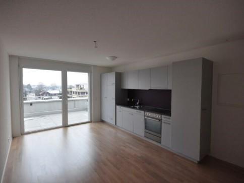 Schöne 1-Zimmerwohnung mit grosser Dachterrasse!