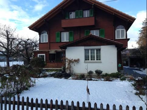 sonnige, ruhige und grosse renovierte Wohnung in Thun