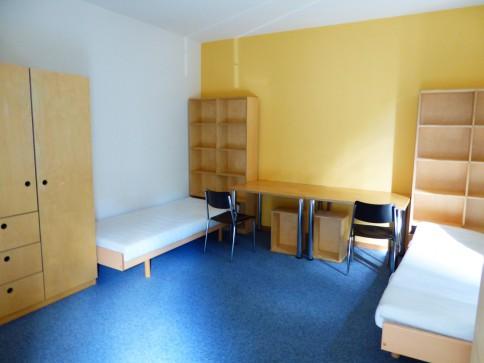 Studentenwohnheim – Zweitbettzimmer direkt neben der Uni