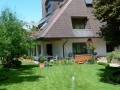 Wohnen im Landhaus - Garten mit Springbrunnen