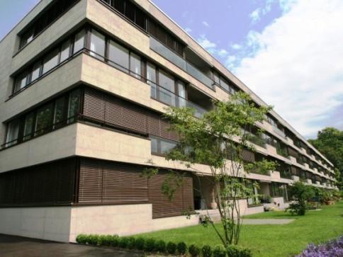 Wohnen im St. Alban-Tal exklusive 5.5-Zimmerwohnung mit Loggia & EHP