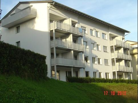 1-Zimmer-Dachwohnung mit Balkon