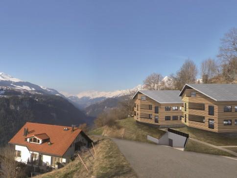2.5 - 3.5 Zimmer Eigentumswohnungen mit atemberaubendem Alpenblick