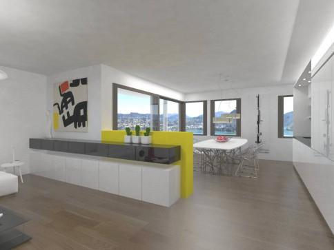 2541-T3-27 Neue 3.5 - Zimmerwohnung / Nuovo appartamento 3.5 locali