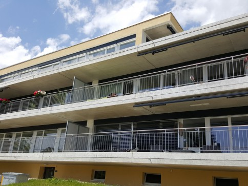 3.5-Zimmer Wohnung mit Fernsicht und grossem Balkon