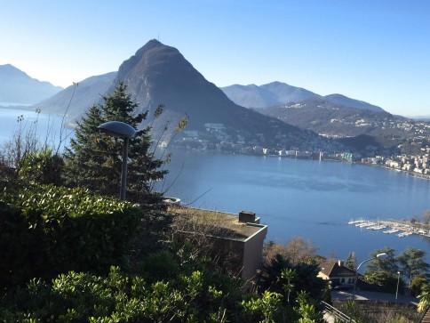 4 1/2 Wohnung Tessin - direkte Sicht auf Luganer See / San Salvatore