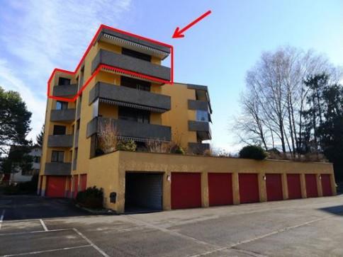 4 1/2-Zimmer-Dachwohnung in ruhigem Wohnquartier