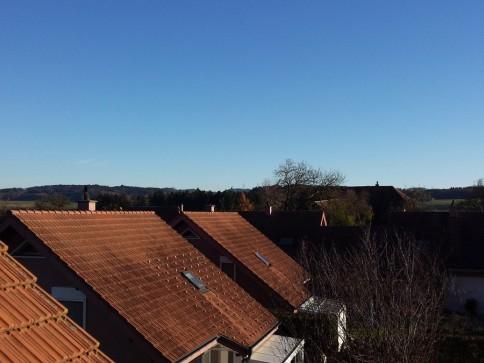 4 1/2-Zimmer-Dachwohnung mit schöner Aussicht