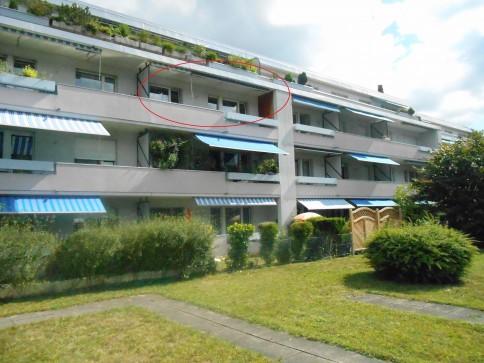 4.5-Z'Wohnung (100 m2) mit Balkon und Autoabstellplatz