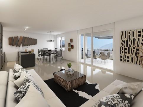4.5 Zi.-Wohnung mit individueller Innengestaltung