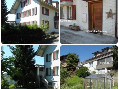 4-Zi-Wohnung in Wasen i.E. mit Mitbenutzung Garten & Bienenhaus