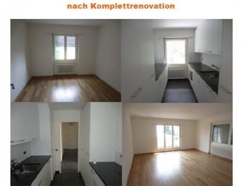 4 Zimmerwohnung nach Totalrenovation zu vermieten