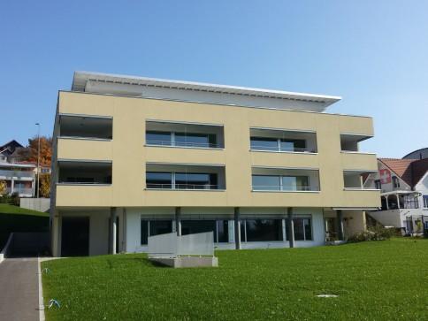 5.5-Z'Attikawohnung 167.5 m2, Terrasse 144 m2, in Neubau, Dornach
