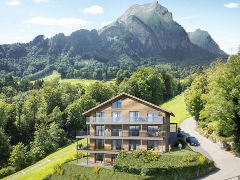 5.5 Zimmer Neubau-Luxus-Wohnung mit einmaliger Aussicht