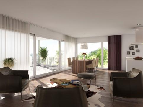 5.5-Zimmer-Neubau-Wohnung an bester Lage