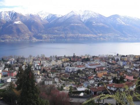 Affittasi STUPENDO app.to 5 locali con vista lago - Minusio