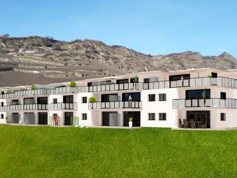"""Appartement """"Minergie"""" de 3.5 pièces, à Pont-de-la-Morge (Sion)"""
