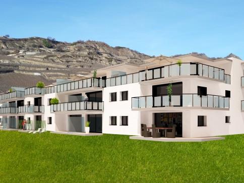 """Appartement """"Minergie"""" de 4.5 pièces, à Pont-de-la-Morge (Sion)"""