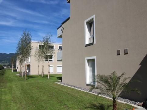 Attraktive Wohnung mit Gartensitzplatz an guter Lage