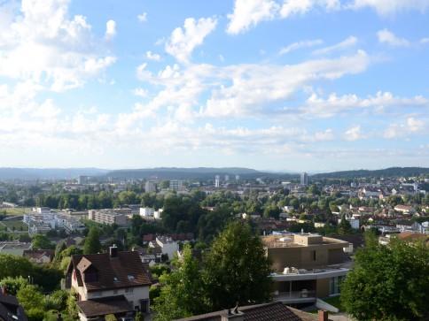 Bauland an sensationeller, unverbaubarer Aussichtslage bei Aarau