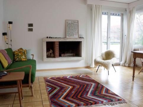 Befristet Januar bis Februar möblierte 2 Zimmer Wohnung in Wipkingen