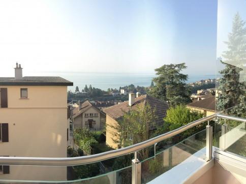 Bel appartement avec vue sur le lac
