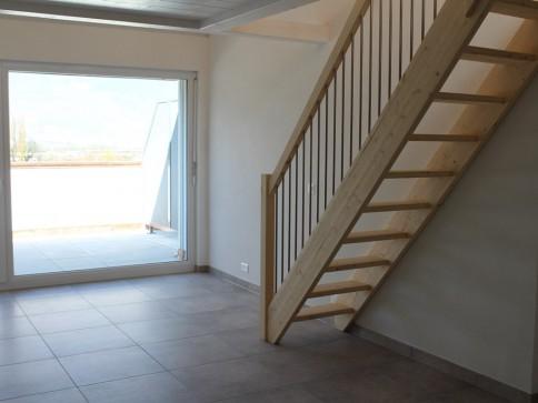 Bex : appartement de 2.5 pièces dans les combles
