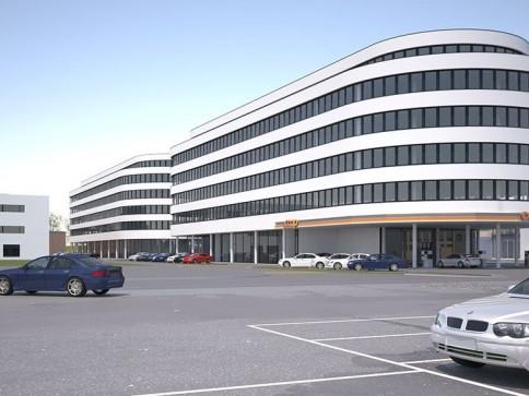 Büro- und Gewerbeflächen mit Ausbauvarianten