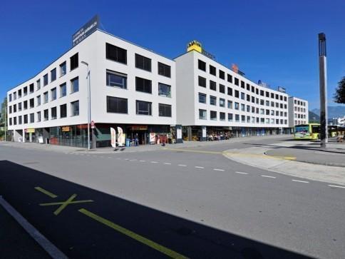 Büro-/Verkaufsräume im Bahnhofpark Sargans - Neubau