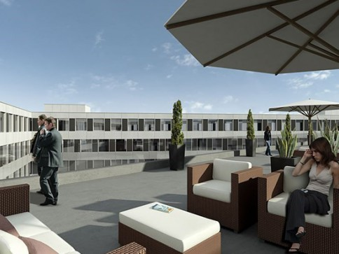 Büroflächen an Top-Lage in Neubau