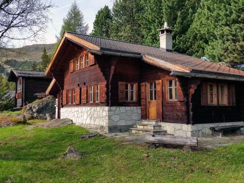 Chalet Rotze - ancien chalet avec mazot sur grande parcelle de 877 m2