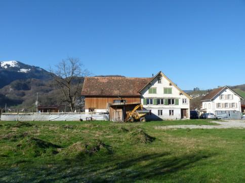 Einfamilienhaus mit Pferde-Freilaufstall