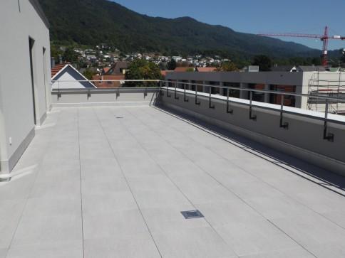 Erstvermietung 3.5-Attikawohnung, Terrasse 102 m2