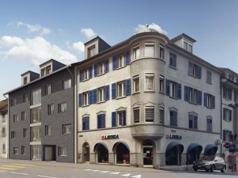 Erstvermietung 4 1/2-Zimmer-Dachwohnung mit grossem Balkon