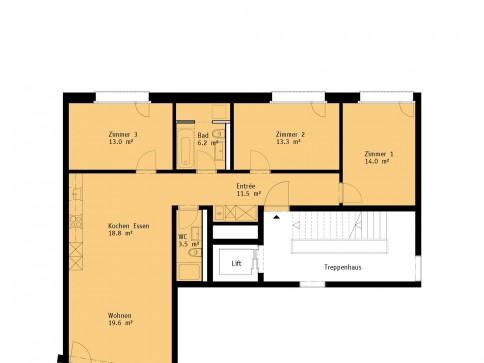 ERSTVERMIETUNG: Hochwertige Neubauwohnung 4.5 Zimmer