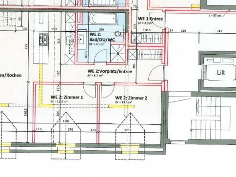 ERSTVERMIETUNG, Wohnen im Zentrum, 3.5-Zimmer mit Galerie