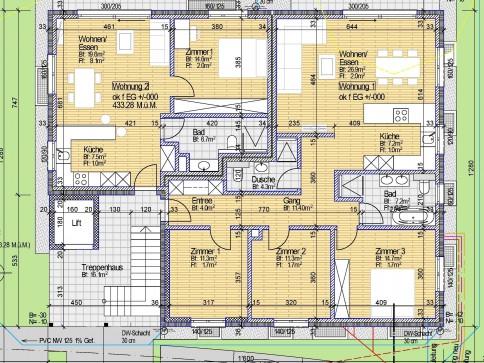 Exclusive 2.5 Zimmerwohnung an Zentraler Lage im Grünen