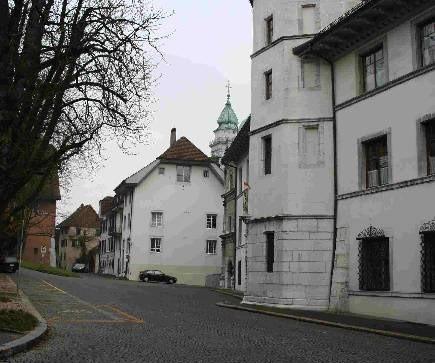 exklusive 2 1/2 Zimmer Altstadtwohnung in Solothurn