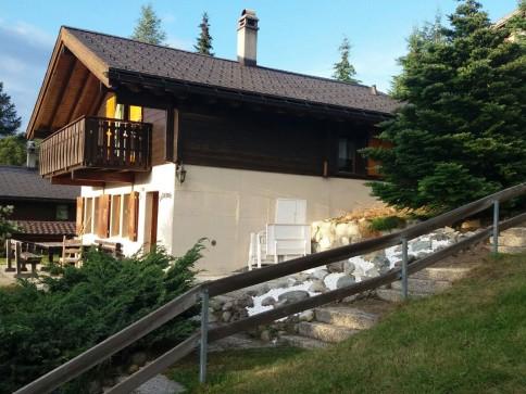 Ferienhaus/Chalet in Bürchen mit schöner Aussicht und Top Zustand