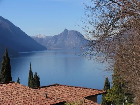 Ferienhaus mit Seesicht auf den Lago di Lugano