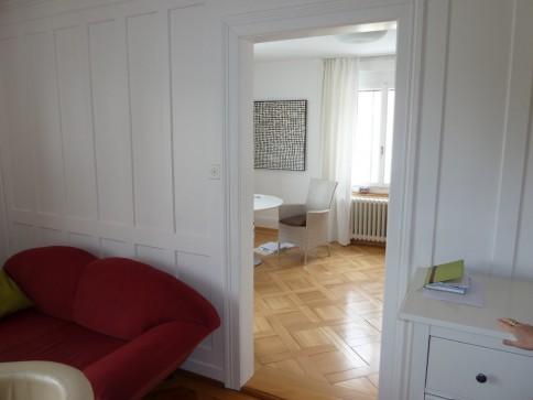 Frisch renovierte Jugendstilwohnung Küche/Bad neu mit Gartenterrasse