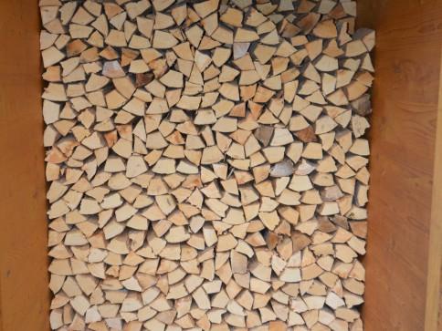 Früher heizte man noch mit Holz......