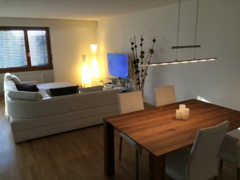 Grosse renovierte 3.5 Zi-Wohnung mit Lift