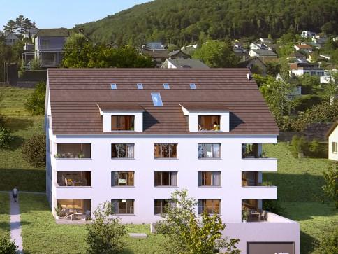 Grosszügige, helle 3 1/2-Zimmer Dachmaisonette Wohnung zu verkaufen