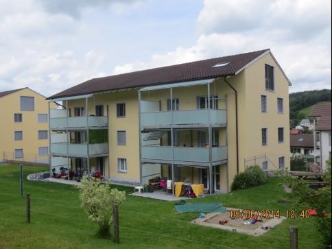 günstige Wohnung mit schöner Waldaussicht